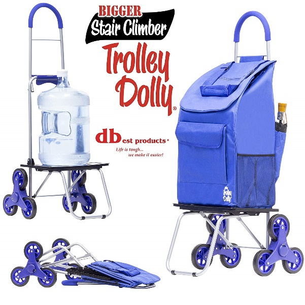 dbest Stair Climber Bigger Trolley