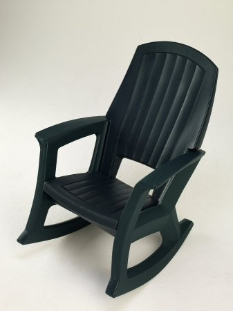 Hunter Green Outdoor Rocking Chair - 600-Lb. Capacity