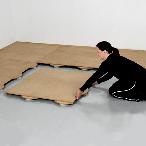 How long will it take to install a portable dance floor?