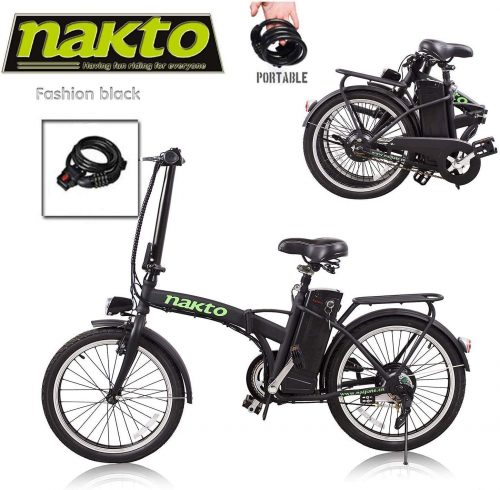 Santa Electric Folding Bike