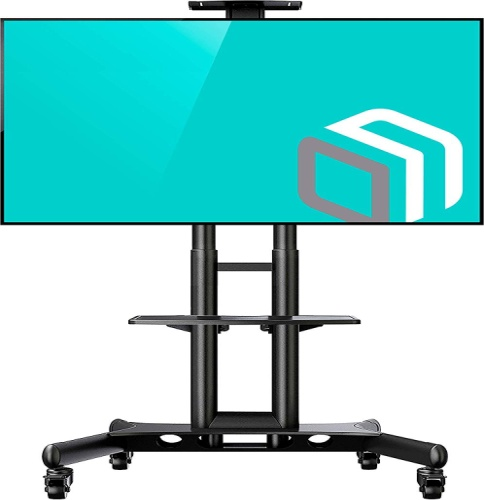 ONKRON Mobile TV Stand with Mount