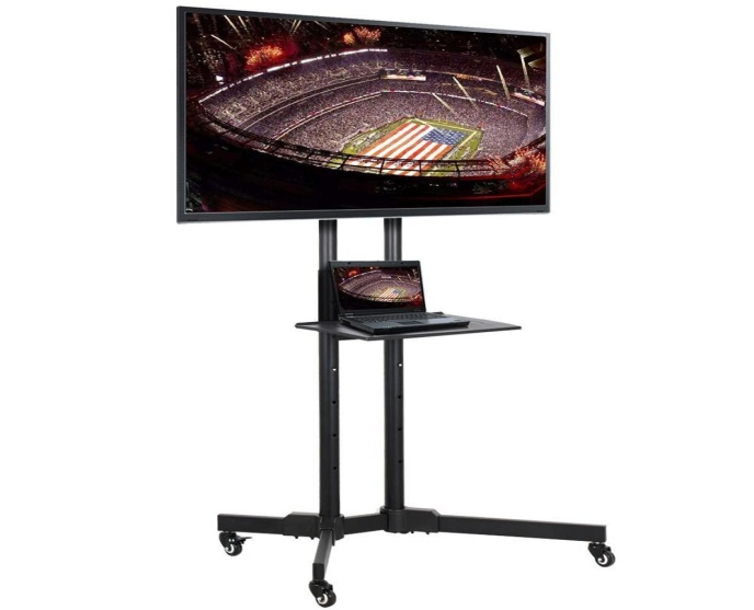 Yaheetech 32 to 65 Inch Mobile TV Cart: