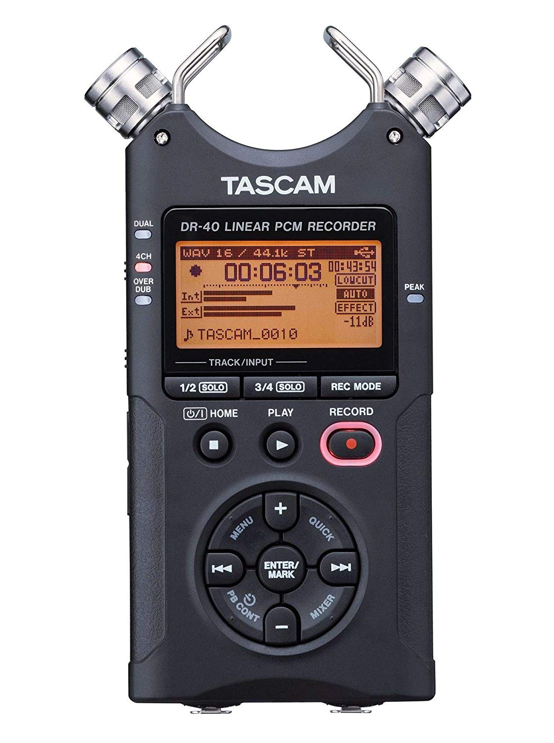Tascam DR-40 4-Track Portable Digital Audio Recorder