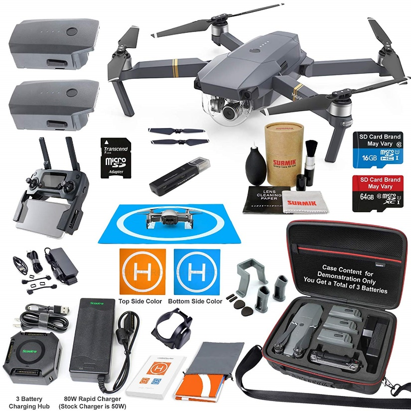 DJI Mavic Pro Quadcopter Elite Combo