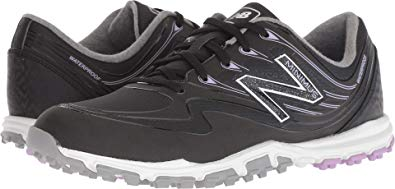 New Balance Minimus Wp Golf Shoes Black/Purple B 6.5