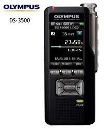 Olympus DS-3500 Professional Dictation Digital Recorders DS3500