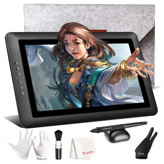 Drawing Monitor, XP-PEN Artist 15.6 inch Full HD IPS Graphics Display Tablet