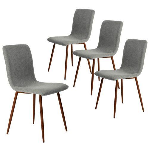 Coavas Set of 4 Kitchen Dining Chairs