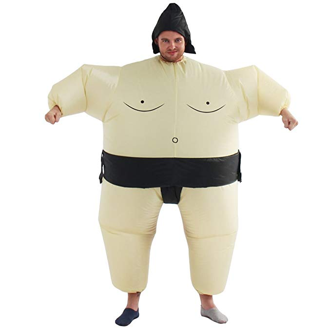 YEAHBEER Inflatable Costume Dinosaur Costumes Sumo Cosplay Costumes Halloween Costume Costumes
