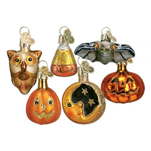 Old World Christmas Ornaments: Miniature Halloween Set Glass Blown Ornament