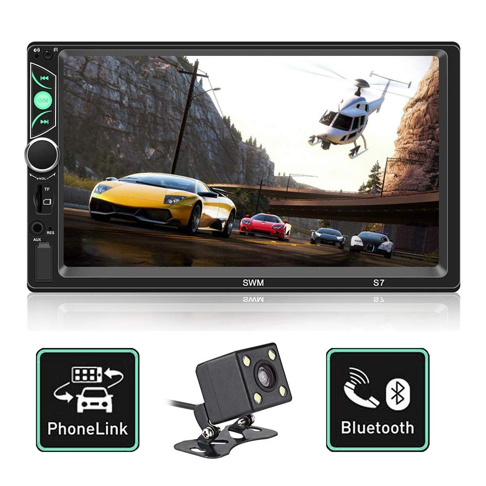 Double Din Car Stereo 7 inch touch screen