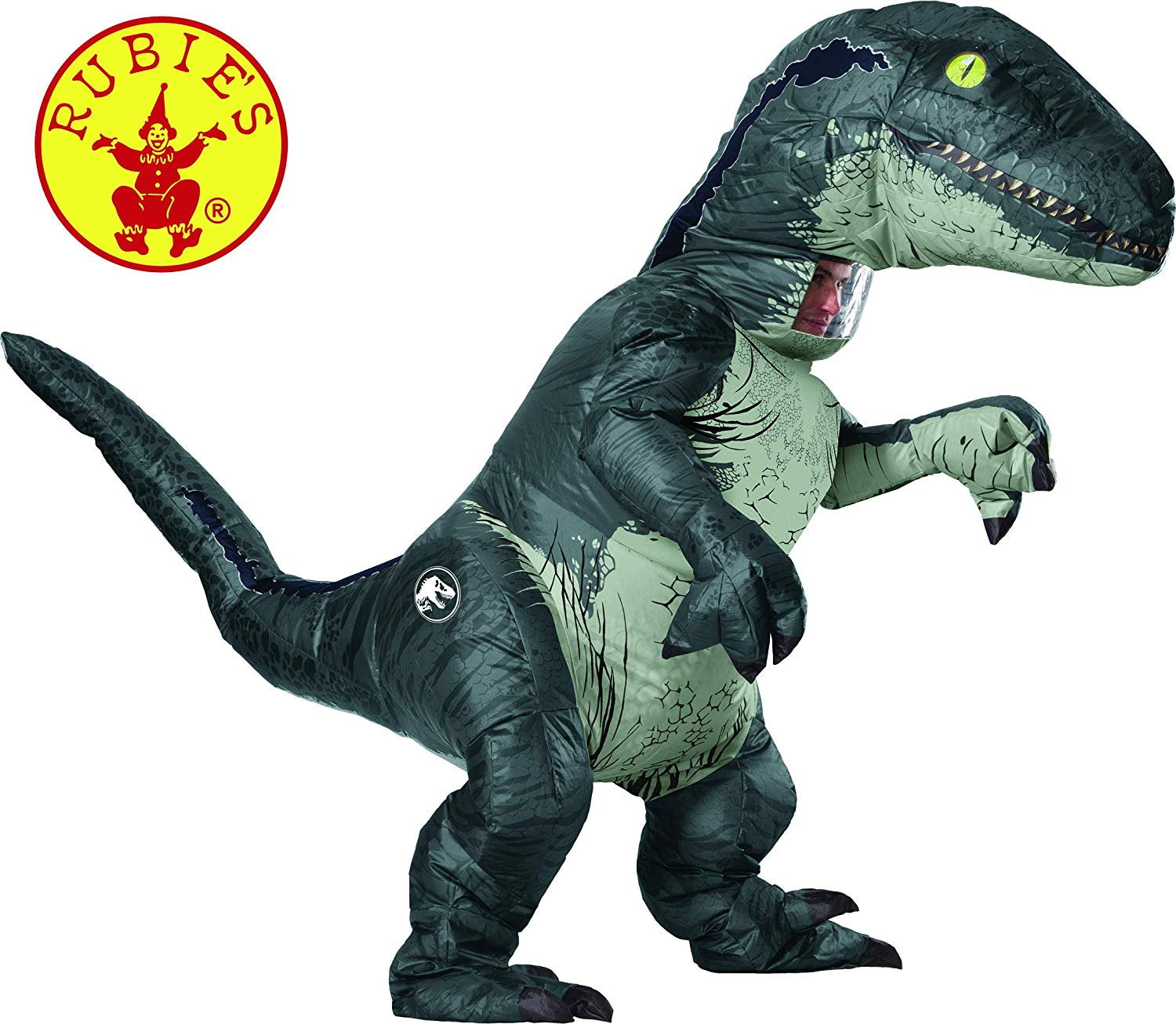 Rubie's Jurassic World Inflatable Velociraptor Dinosaur Costume