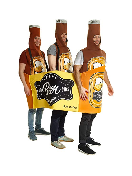 Morphsuits Men's Beer Bottle Costume - Great Group Costume