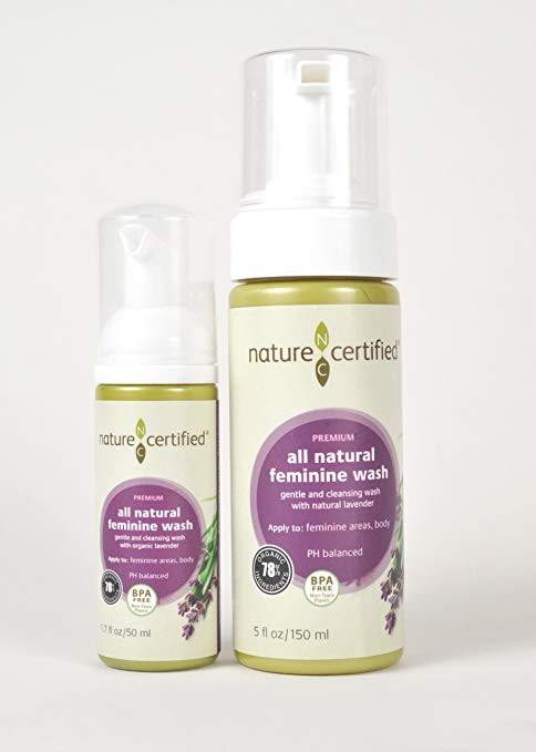 100% Natural Feminine Wash - 150 ml