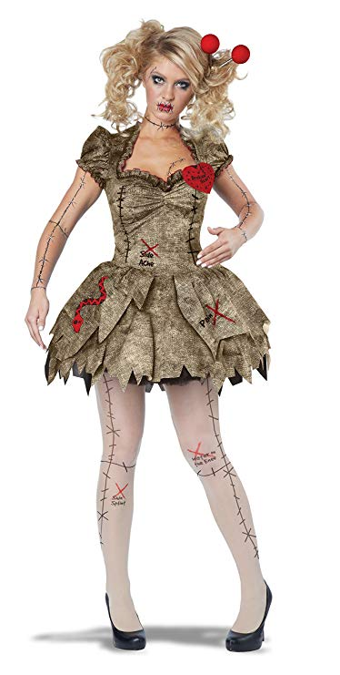 California Costumes Voodoo Dolly Adult Costume-