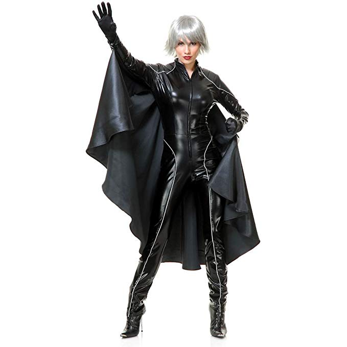 Charades Adult Thunder Super Hero with Cape