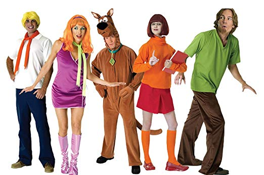 FutureMemories Adult Scooby Doo Group Costume