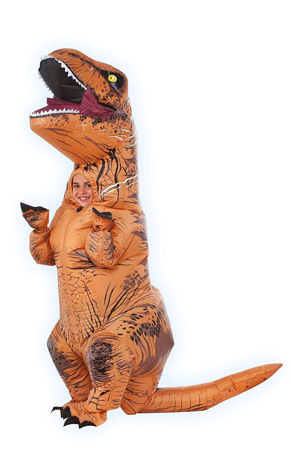 Rubie's Jurassic World T-Rex Inflatable Costume, Child's Size Small