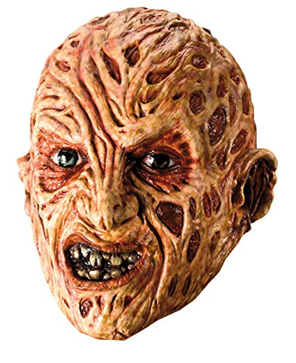 Rubie's Costume A Nightmare On Elm Street Freddy Krueger Mask, Red, One Size