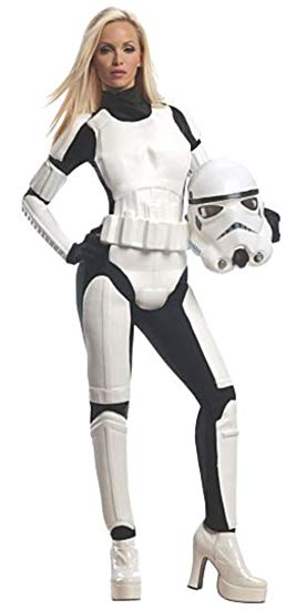Stromtrooper Female Adult Costume - X-Small