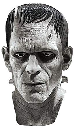 Universal Studios Silver Screen Edition Frankenstein Mask, M