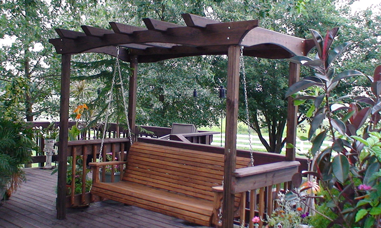 Porch Swings with Stands