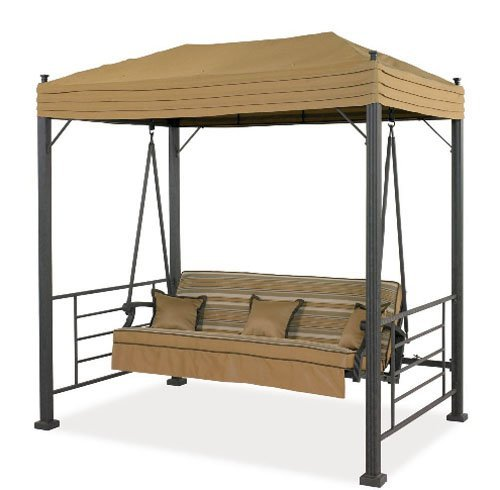Garden Winds LCM600 Replacement Canopy for Sonoma Swing, Palm Canyon Swing, and Sydney Swing