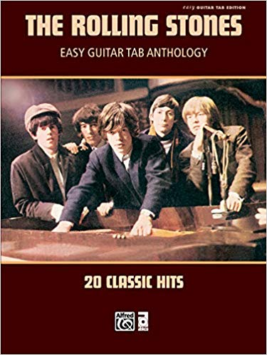 The Rolling Stones—Easy Guitar TAB Anthology: 20 Classic Hits
