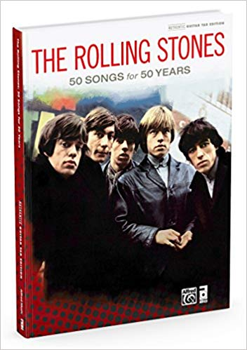 The rolling stones –best of the ABKCO years: authentic guitar TAB hardcover book (authentic guitar tab edition)