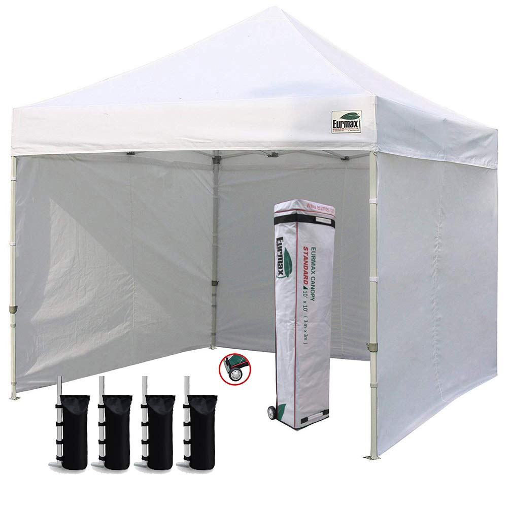 Eurmax 10 by 10 Ez Pop-up Canopy Tent