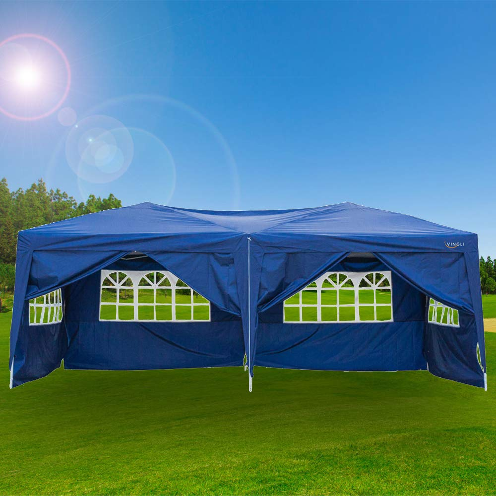 VINGLI 10 by 20 Ft Pop Up Canopy, Instant Tent