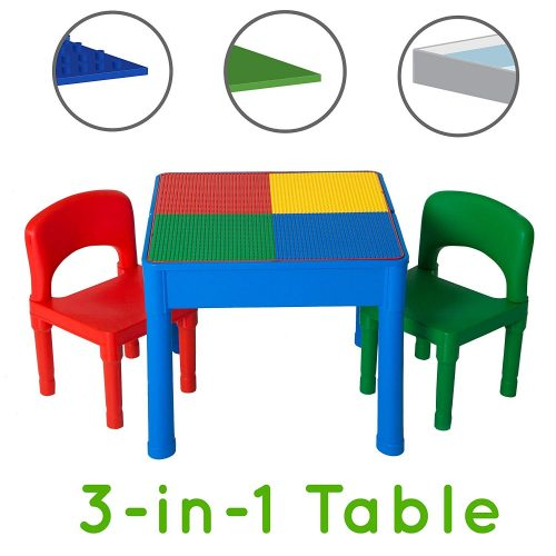 Play Platoon Kids Activity Table Set- 3 in 1 Water Table