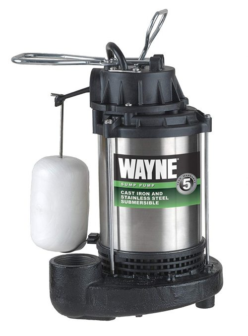 WAYNE CDU98OE ¾ HP Submersible Cast Iron and Stainless Steel Sump Pump
