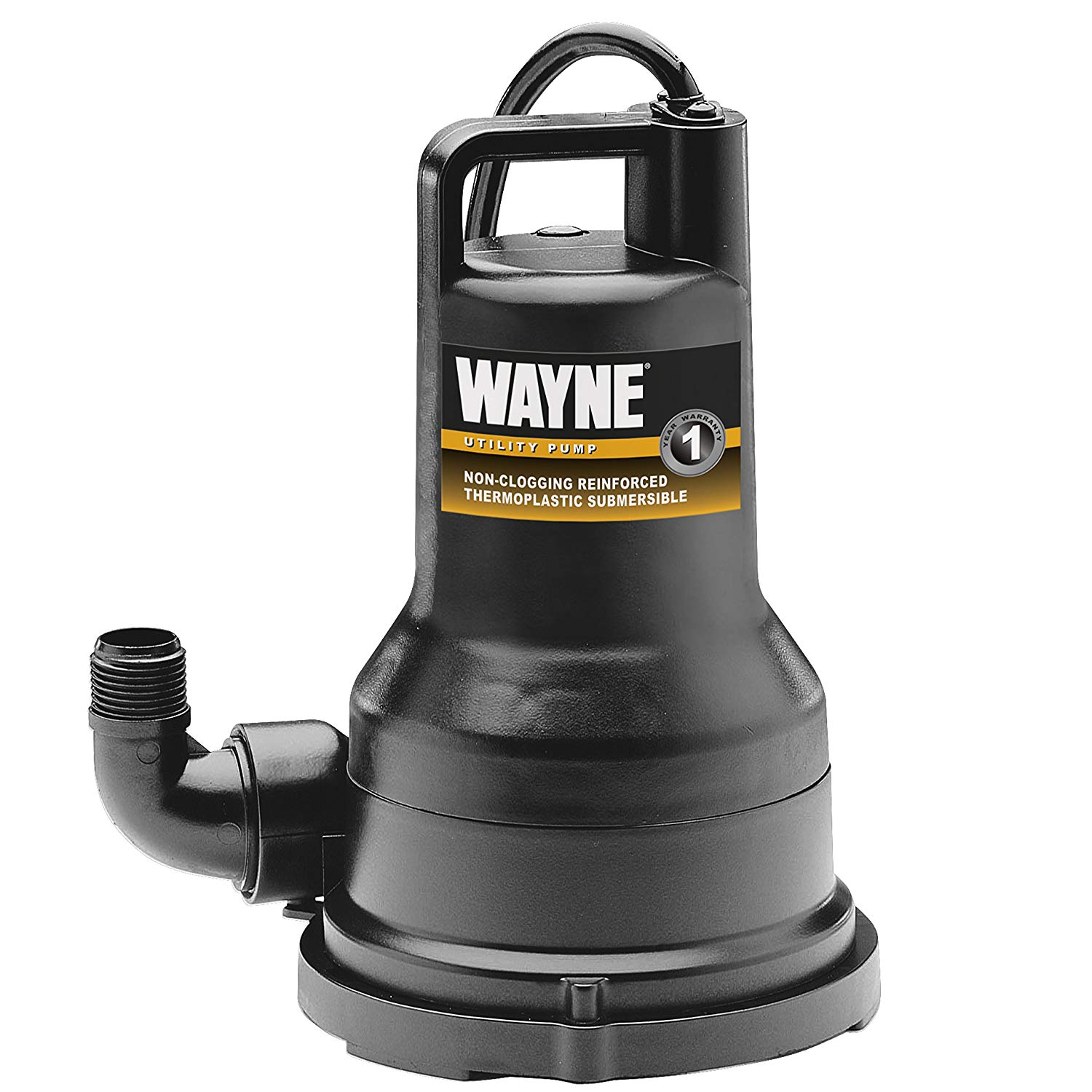 Wayne VIP50 1/2HP Thermoplastic Portable Electric Water Removal Pump