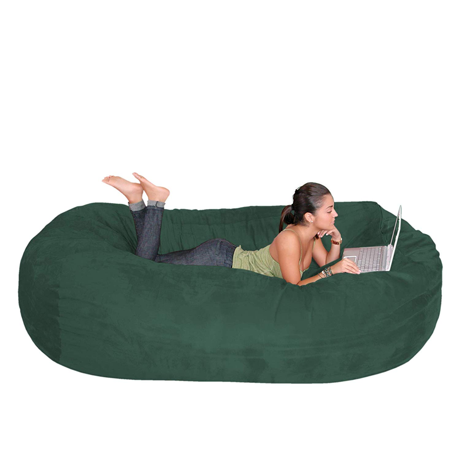 Cozy Sack 8-Feet Bean Bag Chair