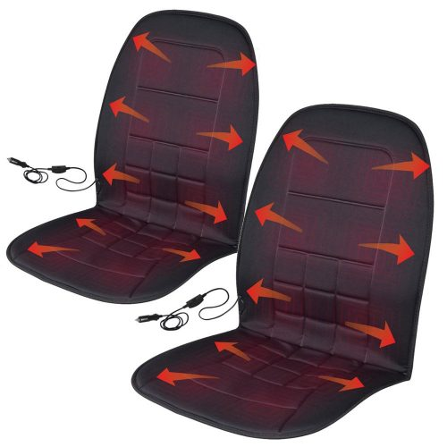 BDK 2P-056-BK_AMO Heated Seat Covers