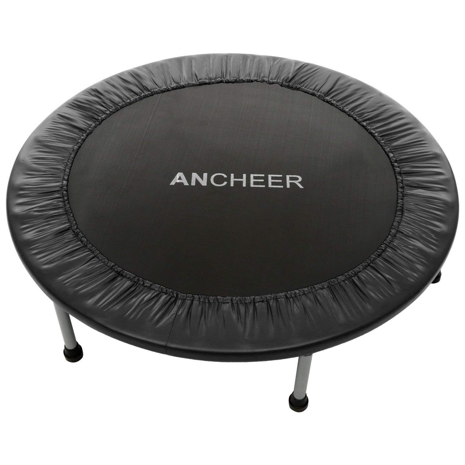 Ancheer Rebounder Trampoline With Safety Pad