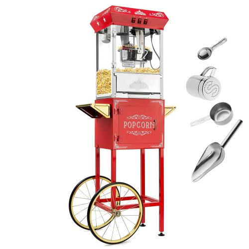Olde Midway Vintage Style Popcorn Machine