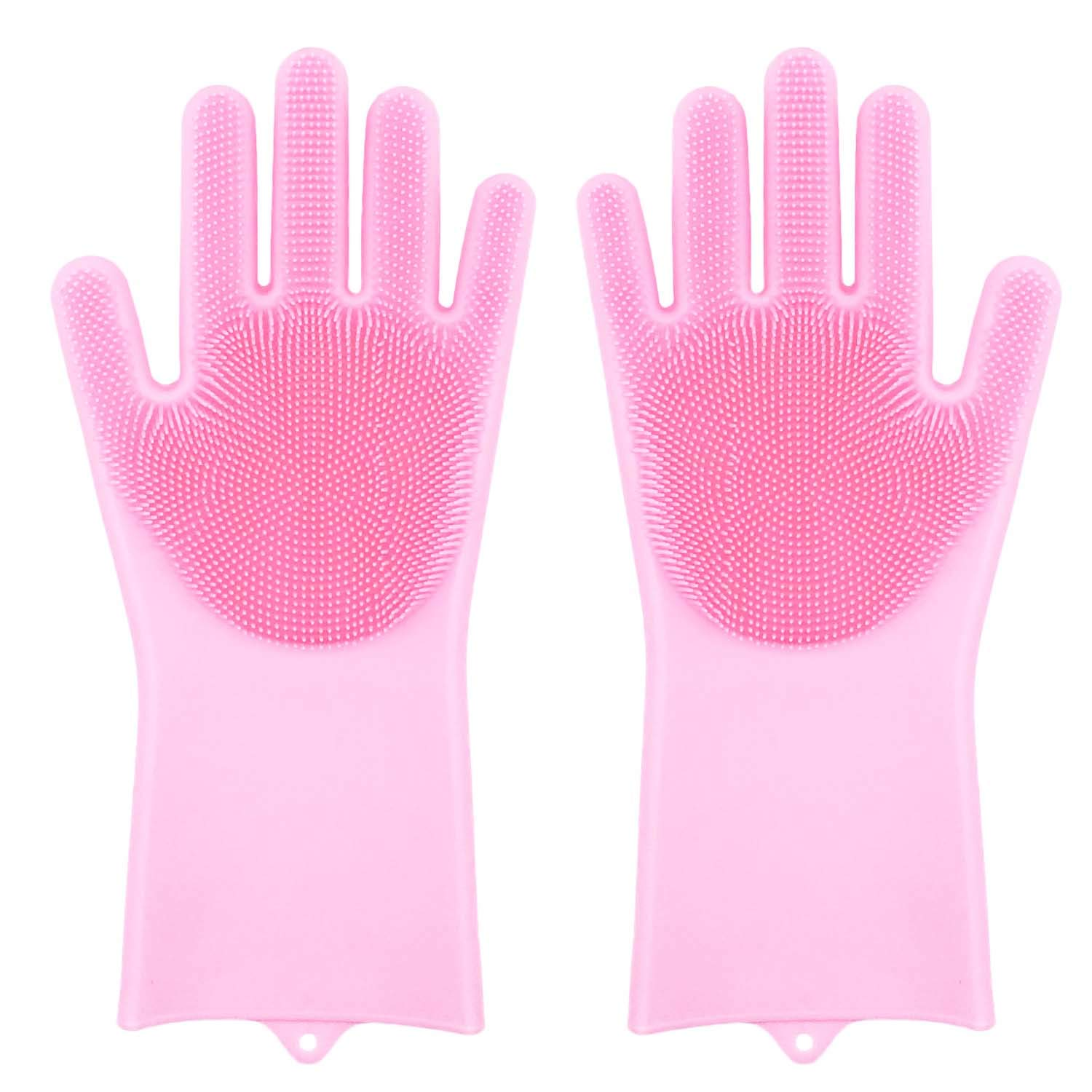 ​​Magic Silicone Dishwashing Gloves