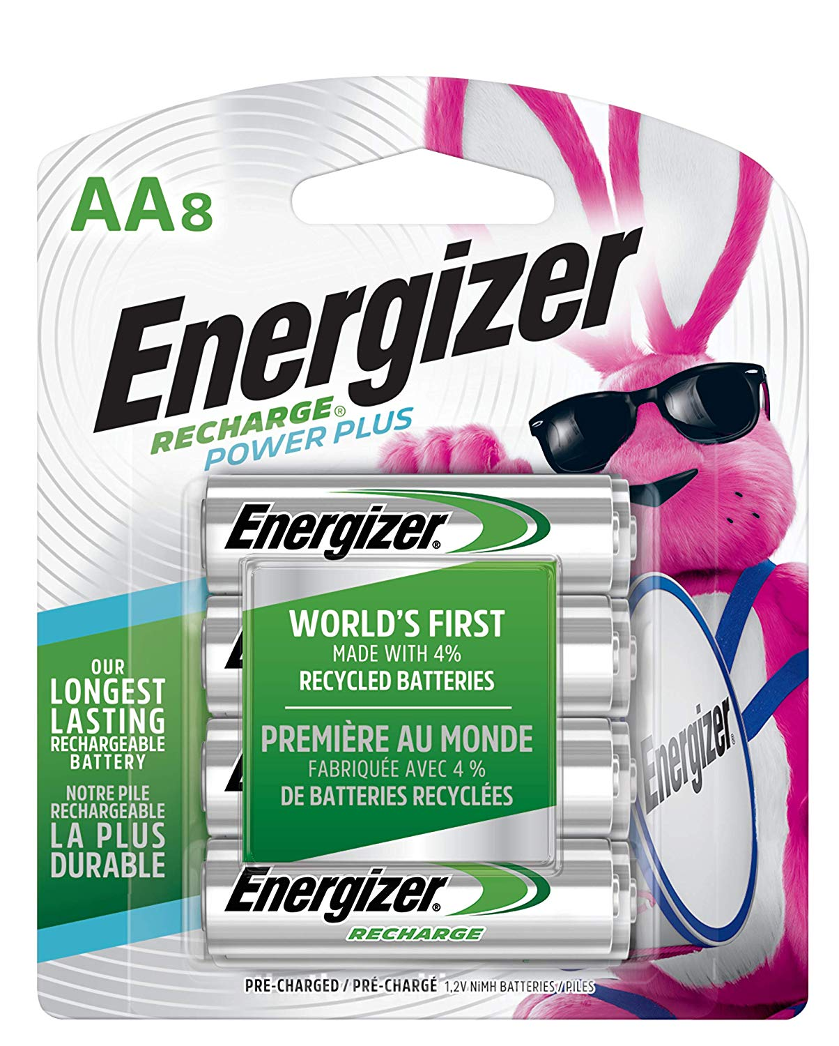 Energizer 2300 mAh Rechargeable AA Batteries