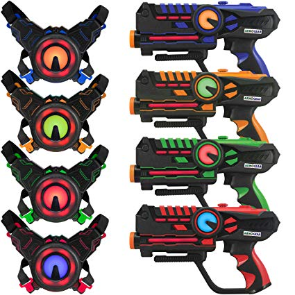 ArmoGear Infrared Laser Tag Blasters and Vest