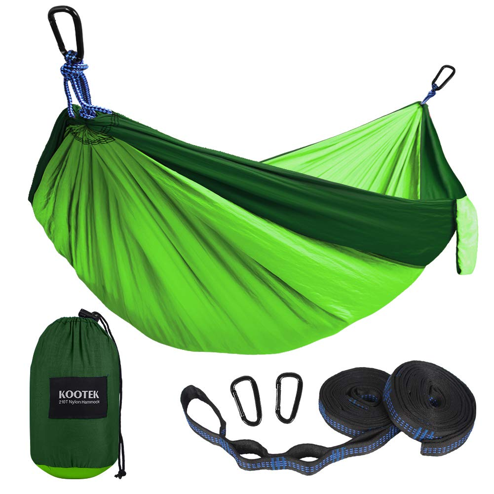 Kootek Camping Hammock Portable Indoor Outdoor Tree Hammock