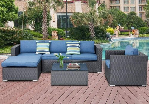SOLAURA Outdoor Furniture Set 6-piece