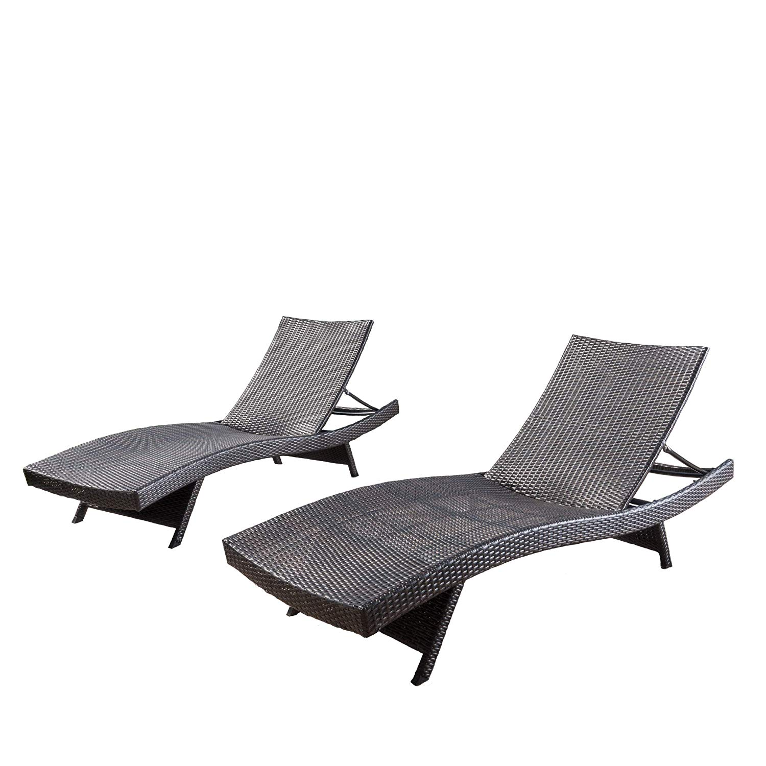 Christopher Knight Home 294919 Lakeport Outdoor Adjustable Chaise Lounge Chair