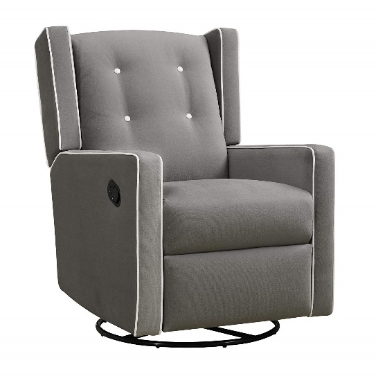 Baby Relax Mikayla Upholstered Swivel