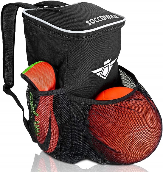 Soccer Backpack with a Ball holder