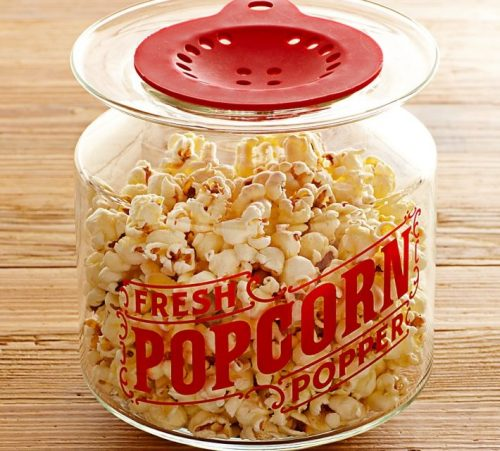 How do you store popcorn for a long time?