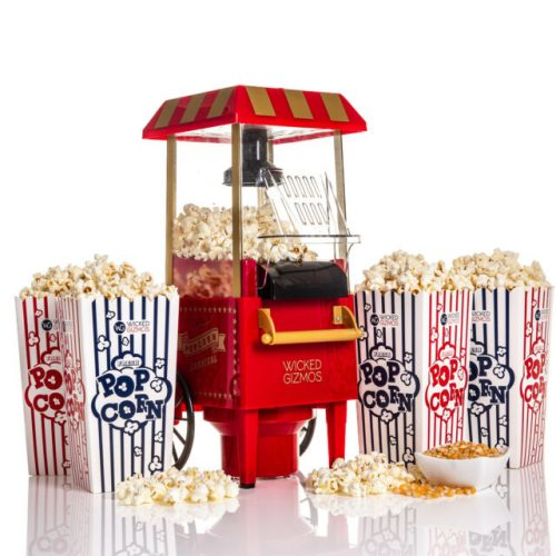 How to make popcorn in a popcorn machine?