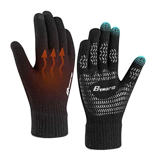 Bymore Winter Gloves for Woman and Men
