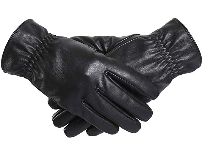 BOTINDO Touchscreen Leather Gloves